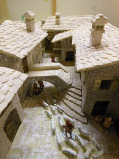 "Passo-passo""Nativita' in Val return Christmas Nativity Scene, Minecraft Projects, Medieval Fantasy, Stop Motion, Small World, Model Homes, Art Tutorials, Sculpture Art, Scenery"