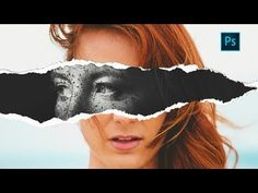 Torn Paper Effect   Photoshop Tutorial - YouTube