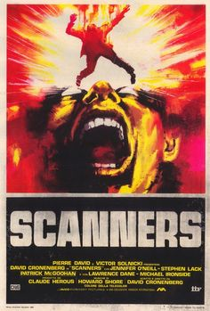 Scanners Italian Poster