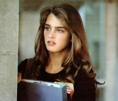 I wasn't sure where to pin this, but Brooke Shields is just so pretty!