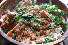 sara's roasted carrots with za'atar