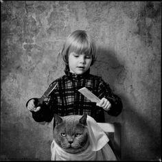 天真無邪小女孩與貓的故事   ㄇㄞˋ點子靈感創意誌