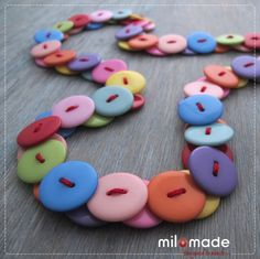 button necklaces to make | ... great so i ve ordered some more buttons as i want to make some more