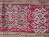 Sungkit (supplementary weft weaving) from Kalimantan, Borneo, Indonesia