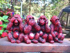 4 Wise Monkeys | Wise Monkeys | Flickr - Photo Sharing!