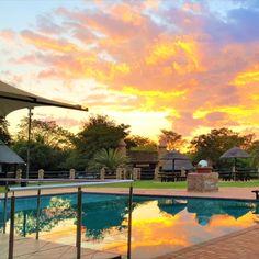 Aquanzi Lodge is 'n en is net enkele minute van die moderne Fourways af, in 'n pragtige inheemse tuin met aalwyne en acacia-bome Acacia, Lodges, Sunset, Mansions, House Styles, Outdoor Decor, Home Decor, Sunsets, Mansion Houses
