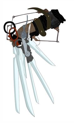 Edward Scissorhands. Think I may have just found my next tattoo. ^_^