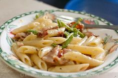 Jamie Olivers Bacon and Asparagus Carbonara   Food Is My Life