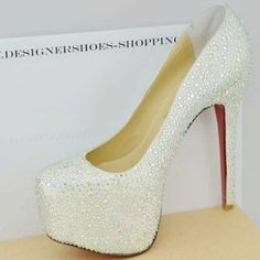 Christian Louboutin = Dream Wedding shoes