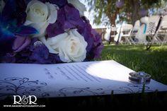Wedding Rings | Wedding Invitation | Bridal Bouquet | Purple | #weddingrings #weddinginvitation #bridalbouquet #purple #RandRCreativePhotography
