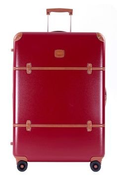BRIC'S 'Bellagio' Rolling Trunk (30 Inch) available at #Nordstrom in black for Brennan