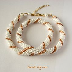 ArtStitch Studio - blog about handcrafted journals and jewelry: bead crocheted necklaces