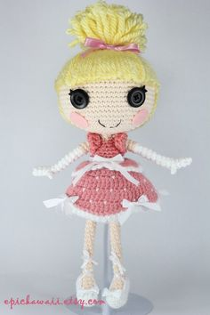 LALALOOPSY Cinder Slippers Crochet Amigurumi Doll by Npantz22 on DeviantArt