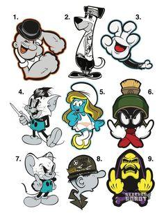 diseños de stickers.
