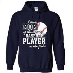 Proud Mom of cuttest baseball Player_33za - personalized t shirts #teeshirt #fashion