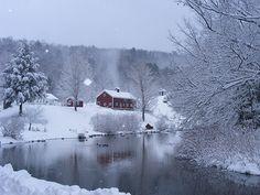 Winter In The Berkshires by natureatbest!, via Flickr