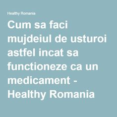 Cum sa faci mujdeiul de usturoi astfel incat sa functioneze ca un medicament - Sanatos Online Remedies, Health Fitness, Cooking, Healthy, Crafts, Diet, Kitchen, Manualidades, Home Remedies
