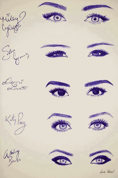 different eye styles you can try http://www.econoautosale.com/ http://www.draftshot.com/