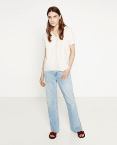 Image 1 of LINEN TOP from Zara