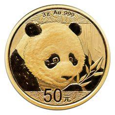 3 gram - 2018 China Panda Gold