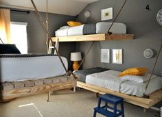 bunkbed idea for the treehouse