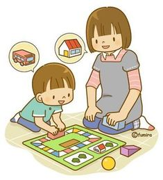 We play board games together. Cartoon Clip, Cartoon Kids, Cute Cartoon, Organisation Administrative, Color Flashcards, Kids Schedule, Japanese Drawings, School Clipart, Character Concept