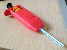 Adjustable Volume Straw Pipette by kwalus.