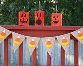 Candy Corn Banner, Halloween, Fall Banner, Halloween Decoration, Photo Prop