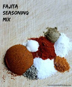 Homemade Fajita Seasoning Mix is quick to make and so much better and flavorful than store-bought!