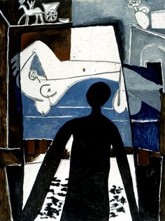Pablo Picasso - The Shadow, 1953
