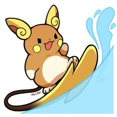 Would so get an Alola Raichu, but half my Pokemon already seem to be fairy types...