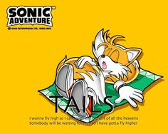 """classic tails the fox prower 