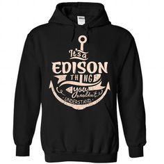 EDISON - #pink shirt #hoodie tutorial. GUARANTEE => https://www.sunfrog.com/Camping/EDISON-Black-88191417-Hoodie.html?68278