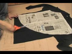▶ Whitney Sews- T-Shirt Circle Skirt and T-shirt Resize - YouTube