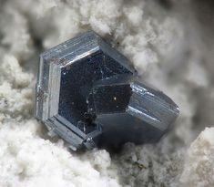 Chalcocite Las Cruces Mine, Gerena, Sevilla, Andalusia, Spain (2012) Taille=3 mm