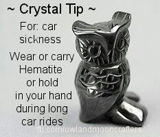 Crystal Tip: For car sickness wear or carry Hematite or hold it in your hand during long car rides. (I can't guarantee its effectiveness. Crystal Magic, Crystal Healing Stones, Crystal Grid, Quartz Crystal, Crystals And Gemstones, Stones And Crystals, Gem Stones, Namaste, Minas Gerais