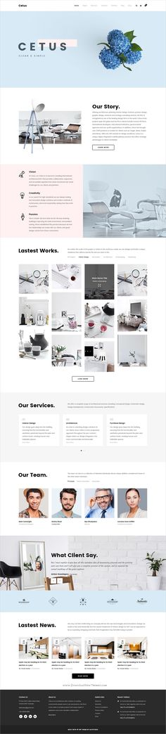 Cetus is a wonderful creative #PSD template for #webdesign multipurpose #portfolio websites with 8 unique homepages, 30 incredible portfolio layout & 94 awesome PSD pages download now➩ https://themeforest.net/item/cetus-creative-portfolio-psd-template/19361309?ref=Datasata