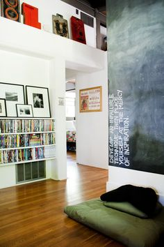 writing wall -- Briana & Dominic's Beautiful Bungalow