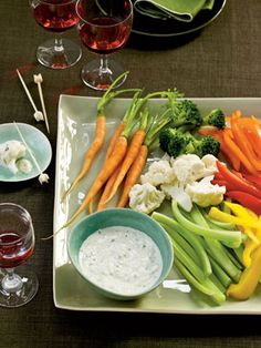 Recipes from The Nest - Creamy Garlic-Herb Dip