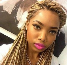 Love the color of the braids