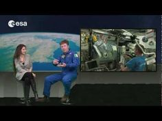 This educational video (available in Italian and soon also in English) describes how our planet looks different through the eyes of the astronauts on board the International Space Station, and through the artificial eyes of satellites. Italian astronaut Roberto Vittori discusses what he saw at a 350-km high orbit, and what satellites can see -- that the human eye cannot -- at double that height.
