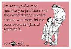 Tall tall glass