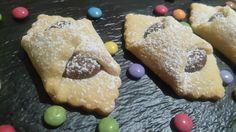 Biscotti fagottini alla nutella