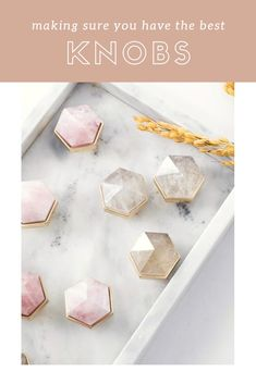 Looking for new cabinet decorating ideas? There is no better way to do it than adding these stylish cabinet drawer knobs. Add them to all your favourite cabinets, and make them a timeless cabinet Cabinet And Drawer Knobs, New Cabinet, Knobs And Handles, Cabinet Decor, Decor Interior Design, Interior Decorating, Decorating Ideas, Crystal Knobs, Hexagon Shape