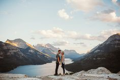 David Guenther Photography  Engagement Mountains