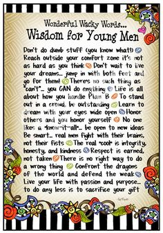 For my Sons Jonathan & Christopher...