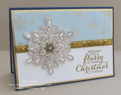 Stampin' Up! UK Demonstrator - Teri Pocock: Flurry Of Wishes - In Gold