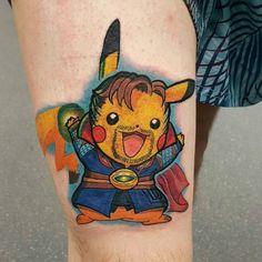 Doctor Pika-Strange Tattoo