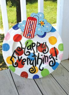 Coton Colors Firecracker Attachment on the Happy Everything Platter is the perfect statement piece for any 4th of July celebration to get everyone FIRED UP!