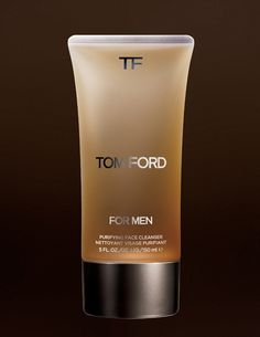 TOM FORD PURIFYING FACIAL CLEANSER | I developed this water-activated, foaming gel cleanser to condition while it cleanses. It features the Tom Ford Purifying and Skin Calming Complexes to leave skin exceptionally clean without tightness or dryness. Its lightweight formula conditions and hydrates the skin as it unclogs pores and prepares skin for a smooth shave. It rinses beautifully without drying, so your face looks and feels smooth, refreshed and energized.